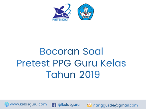 Soal Pretest PPG