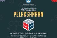 Juknis KSN SD Tahun 2020 (Pengganti OSN SD)