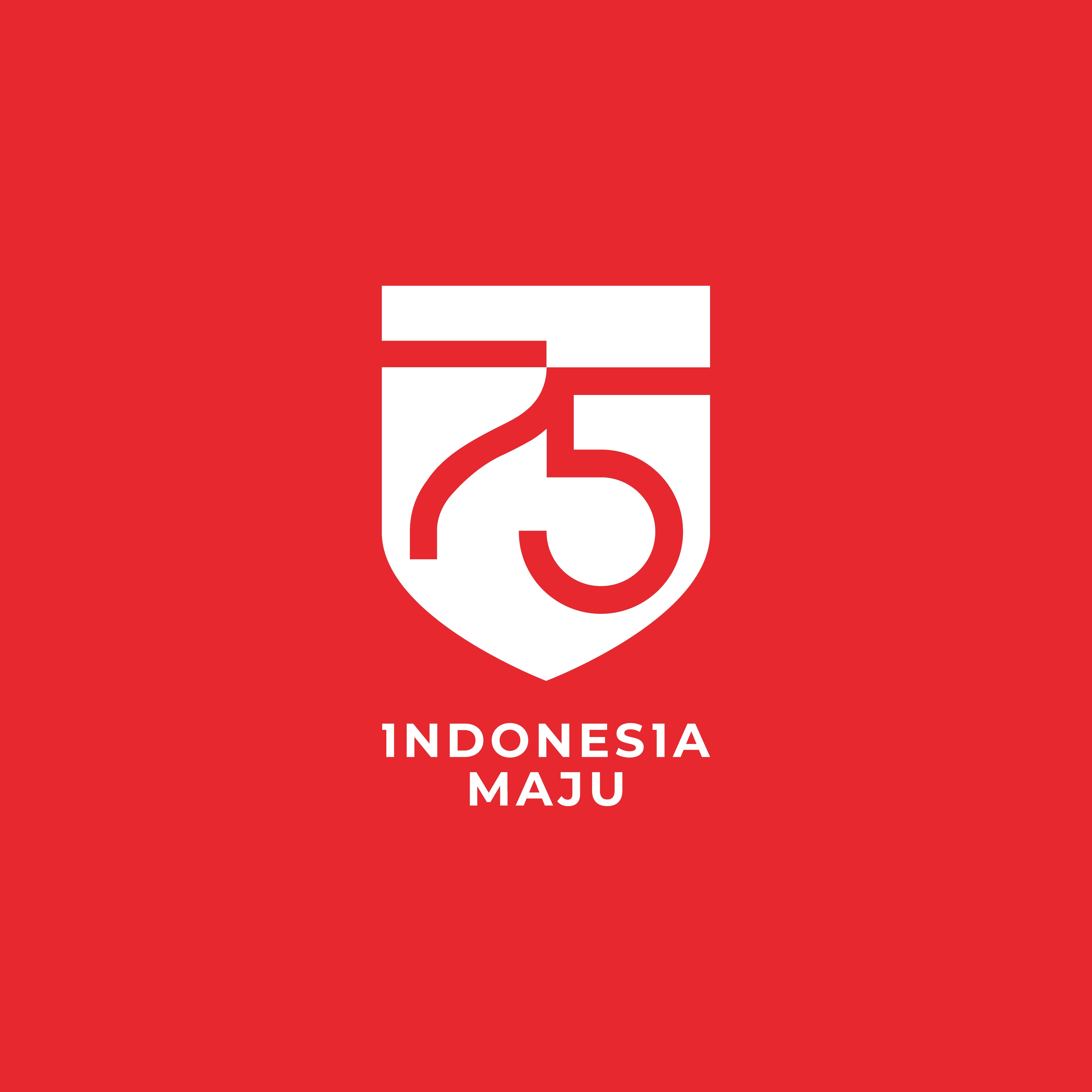 Logo HUT RI ke 75 Tahun 2020