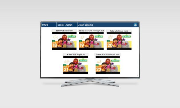 Tayangan Belajar TVRI 4-10 Mei 2020 PAUD